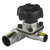 316L不锈钢卫生级三通盖米隔膜阀